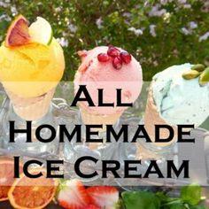 Need a Recipe for Ice Cream? We have the EASIEST!! Creme Brulee Ice Cream, Lime Ice Cream, Blueberry Ice Cream, Raspberry Ice Cream, Pineapple Coconut Ice Cream, Watermelon Ice Cream, Kitchen Aid Ice Cream, Peppermint Ice Cream, Homemade Ice Cream