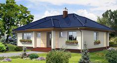 Village House Design, Village Houses, Beautiful House Plans, Beautiful Homes, Bungalow Porch, Free House Plans, Home Design Floor Plans, Ontario, Design Case
