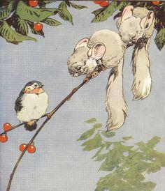 1925 Harry Rountree illustration (unsigned), via printsandpastimes