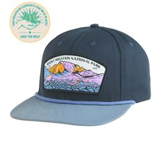 Rocky Mountain National Park Hat (Flat) Mountain Hat 38fe09b5d3b1