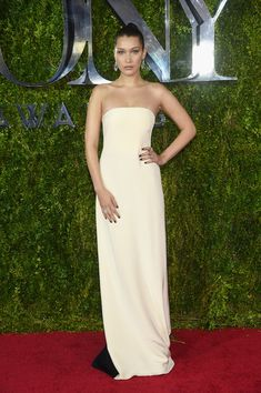 Bella Hadid, 2015 - The Most Stunning Tony Awards Looks of All Time - Photos