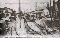 Pays Basque 1900: Le tramway St Jean de Luz, col de St Ignace, Sare