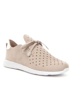 Let Dillard's be your destination for women's sneakers, available in regular and extended sizes from all your favorite brands. Suede Sneakers, Adidas Sneakers, Leather Socks, Trail Running Shoes, Pretty Shoes, Sport Casual, Crazy Shoes, Golf Shoes