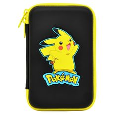 Amazon.com: HORI Pikachu Hard Pouch for New Nintendo 3DS XL Officially Licensed by Nintendo & Pokemon: Video Games
