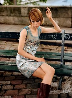 """Edie in Paris"" Edie Campbell by Alasdair McLellan for Vogue Paris September 2014"