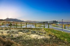 Adobe Systems Campus Landscape   Lehi, UT, USA   Wallace Roberts & Todd #landscape #architecture #meadow #office #campus