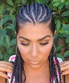 cornrows on top of head - Google Search