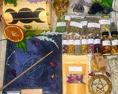 WITCH BOXES & KITS Wooden Box styles by TowneWitchCreations Crystals And Gemstones, Stones And Crystals, Witchcraft Supplies, Witch Jewelry, Wooden Boxes, Wicca, Etsy Seller, Handmade Gifts, Wood Crates