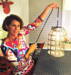 How to electrify a candle lantern