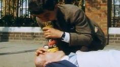 Mr Bean's First Aid Treatment To A Man Who Had Heart Attack - #funny #MrBean
