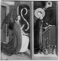 c. 1450-1560 | Lochner - Nachfolge | Volantes de um políptico do Mosteiro agostiniano de Colónia | Germanischen National Museum