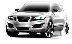 Saab 9-4X BioPower Concept on Behance