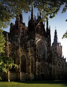 The Sint Jan (Saint John) cathedral in 's-Hertogenbosch. Maybe the most beautiful gothic church from the Netherlands.
