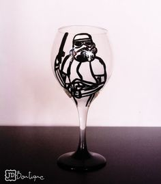 Stormtrooper Wine Glass...  I want this!!