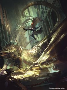 dragon 1 by marat ars Spectrum The Best in Contemporary Fantastic Art Fantasy Artwork, Dungeons And Dragons, Dragon Artwork, Art Watch, Epic Art, Fantasy Dragon, Art Et Illustration, Medieval Fantasy, Fantastic Art