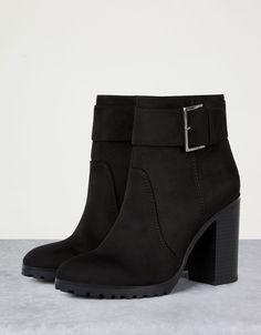 Bershka Armenia - Buckle ankle boots