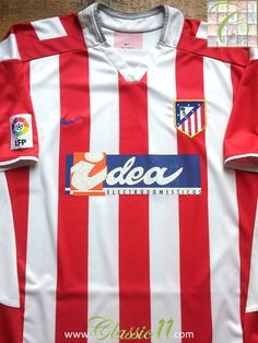 75588ce8859 17 Best Classic Atlético Madrid Football Shirts images in 2019 ...