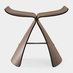 Rosewood Butterfly Stool