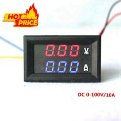 Resultado de imagem para medidor de voltagem digital