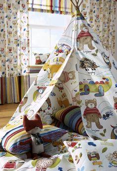 Boy's bedroom curtains - design ideas