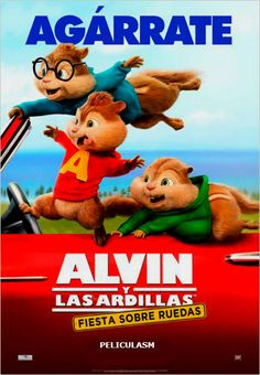 alvin and the chipmunks the road chip pelicula español - Google Search