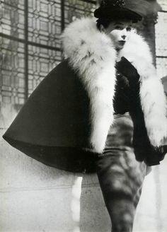 vintage balenciaga fur