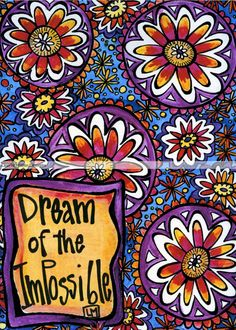 Dream of the Impossible by LaurieMillerDesigns on Etsy, $10.00