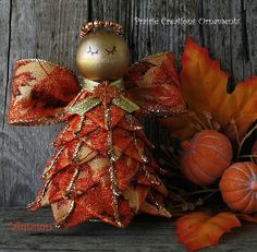 quilted angel ornament tutorial | welcome ornament shop ornament decor galleries bow topper tutorial ...
