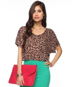 Like the top but not so much with this skirt..