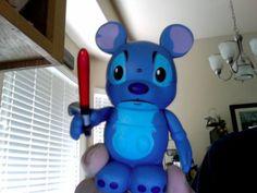 Stitch Vader! Rawr! #vinylmation #stitch #disney
