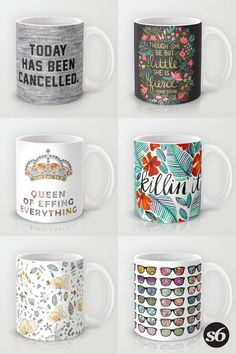Mugs and millions of other products available at Society6.com today. Every purchase supports independent art and the artist that created it.