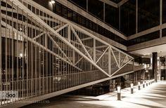 Stuttgart 2015 by ralfh  night 2015 Badenwürtenberg Deutschland Germany Sommer Stuttgart architecture black an white city ral