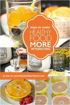 Ways to Make Healthy More Interesting #StraussWaterBar