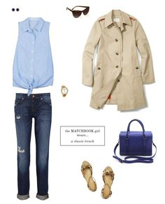The Matchbook Staple: A Classic Trench