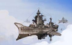 ArtStation - Battleship, Adam Dawidowicz