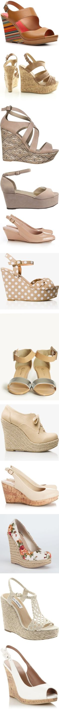 """100 great summer wedges under $50/£30"" by dana-forlano on Polyvore"