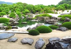 Garden of the Adachi Museum of Art 足立美術館 @ Yasugi Shimane Prefecture Japan