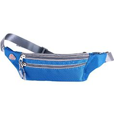 Portable Sports Travel Zipper Belt Bag Pack Pocket Purse Camping Hiking Outdoor