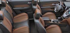 2016 Chevrolet Equinox Fuel Efficient SUV interior room. www.chevroletofsantafe.com