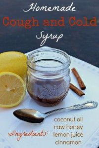 Homemade Cough and Cold Syrup