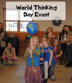Plenty of great ideas for celebrating World Thinking Day from Girl Scout leaders from across the country and around the world.