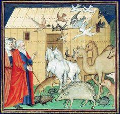 Twitter / Sarah_Peverley: Animals enter the Ark, Bible ...