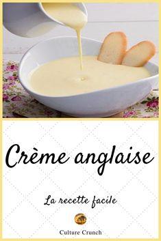 English cream: the easy recipe Pudding Recipes, Cake Recipes, Dessert Recipes, Desserts With Biscuits, Cookie Desserts, Crunch Recipe, Salsa Dulce, Ganache, Christmas Dishes
