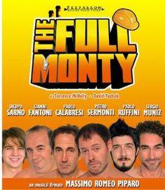 The Full Monty al Teatro Nazionale di Milano dal 3 al 21 aprile 2013.  #FullMonty #Musical #Milano