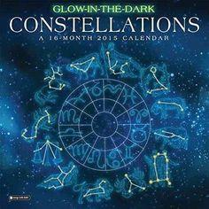 Glow-In-The-Dark-Constellations-Calendar-9781622264483-Calendar-BRAND-NEW