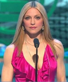 Madonna, in Versace, 2003 Grammy Awards