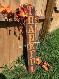 Perfect fall door hanger or use it as a porch leaner. Use it along with your Thanksgiving decor. To see the rest of my fall items, click the link below: Thanksgiving Decorations, Halloween Decorations, Fall Decorations, Orange Sunflowers, Fall Door Hangers, Rustic Fall Decor, Porch Signs, Door Signs, Primitive Fall