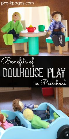 Benefits of Dollhouse Play in Preschool. Learn how to create a powerful center that supports the development of oral language, vocabulary, creativity, imagination and more in your preschool classroom!