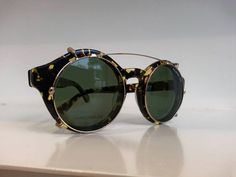 Beautiful and legendary Titano with Clip-on #EPOS #Leggenda #eyewear