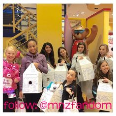 the girls at build-a-bear
